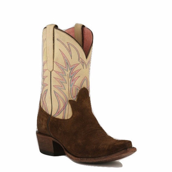 Junk Gypsy Lane Ladies Dirt Road Dreamer Chocolate Suede Boots JG0003B - Wild West Boot Store - 1