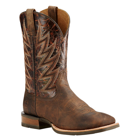 Ariat Men's Challenger Branding Iron Brown Performance Boot 10018695 - Wild West Boot Store