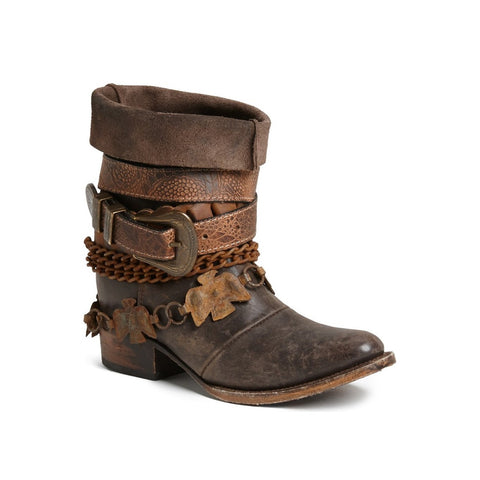 Freebird by Steven Yerba Brown Harness Boot FB-YERBA-BRN - Wild West Boot Store - 1