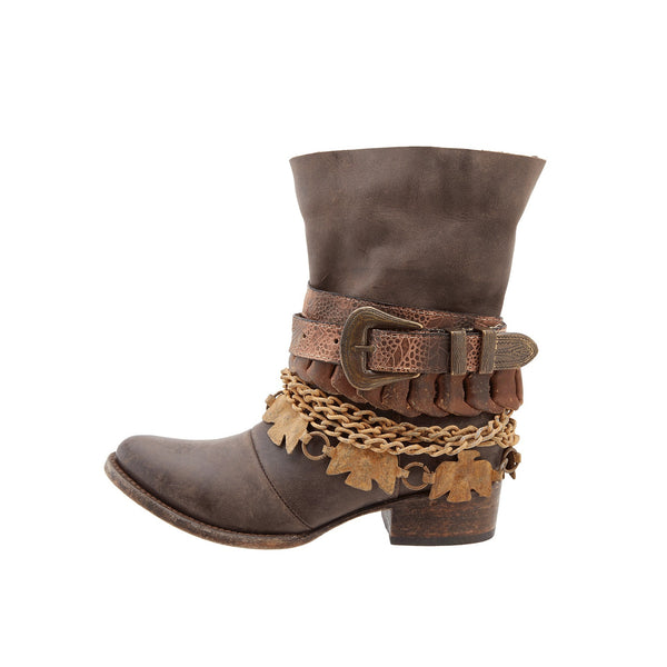 Freebird by Steven Yerba Brown Harness Boot FB-YERBA-BRN - Wild West Boot Store - 2