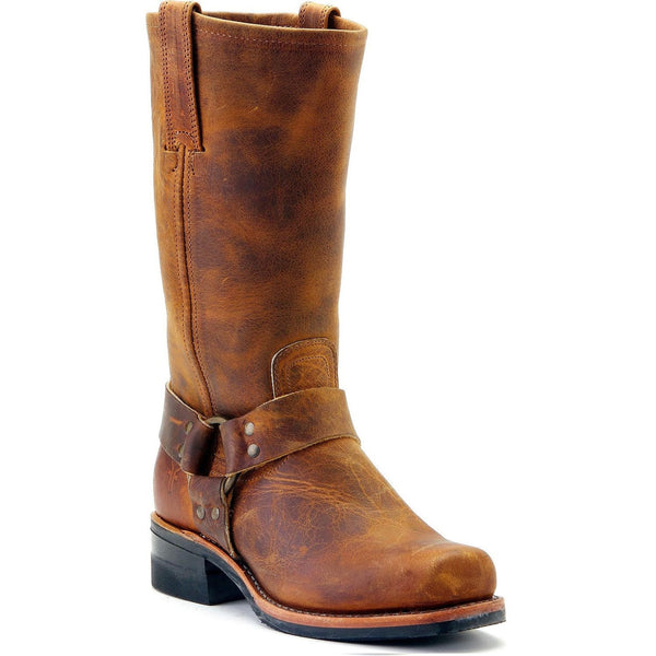 Frye Men's Harness 12R Dark Brown Boot 3487350-DBN - Wild West Boot Store
