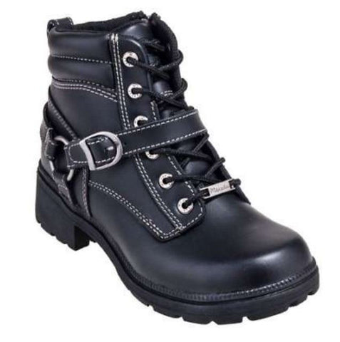 Milwaukee Ladies Paragon Motorcycle Boots MB228 - Wild West Boot Store - 1
