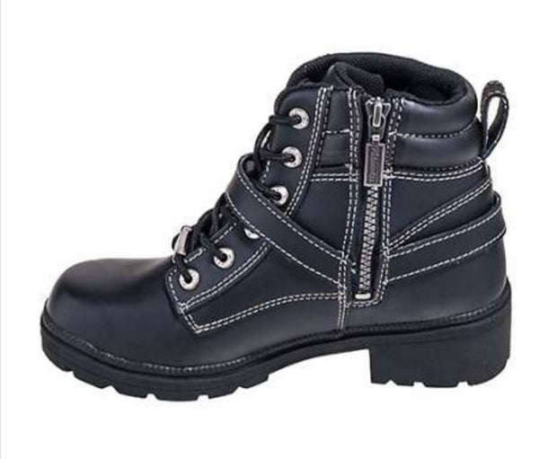 Milwaukee Ladies Paragon Motorcycle Boots MB228 - Wild West Boot Store - 5