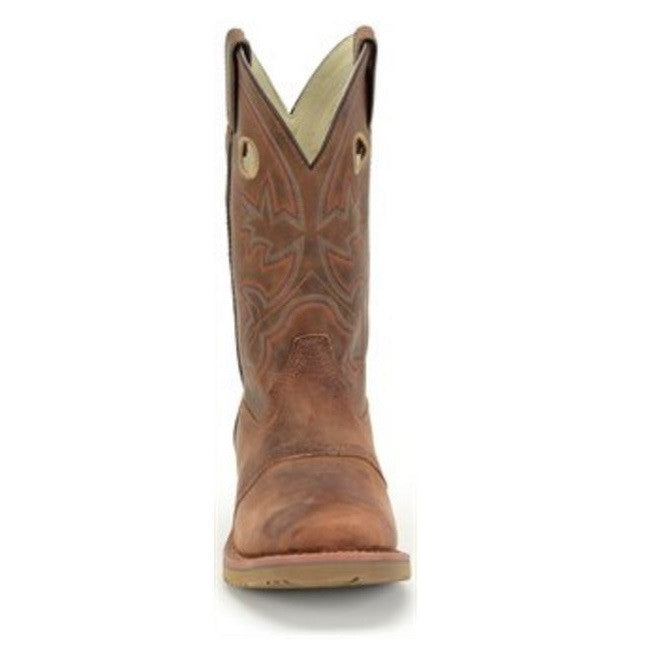 8dd4fcaf8d64 Double H Men s Brown Wide Square Toe ICE™ Roper Boot DH5134 - Wild West Boot
