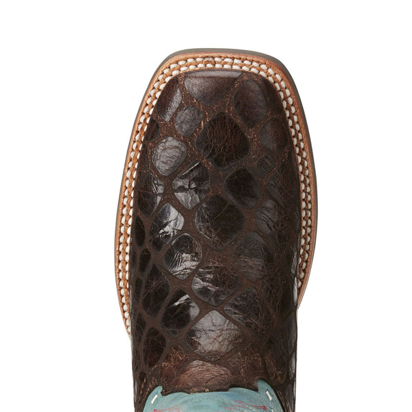 Ariat® Ladies Callahan Chocolate Andaconda Print Boot 10021665 - Wild West Boot Store