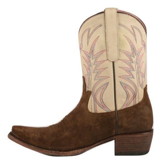 Junk Gypsy Lane Ladies Dirt Road Dreamer Chocolate Suede Boots JG0003B - Wild West Boot Store - 2