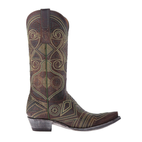 Old Gringo Ladies Brass Lerida Embroidered Boots L2392-2 - Wild West Boot Store - 3