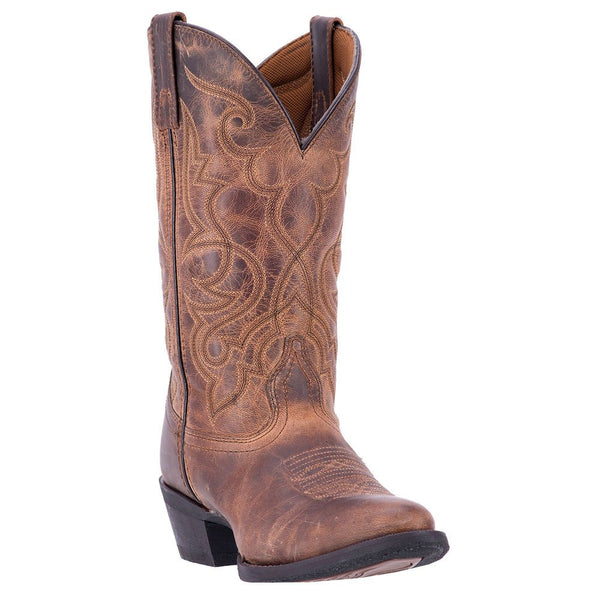 Laredo Ladies Brown Embroidered Boots 51112