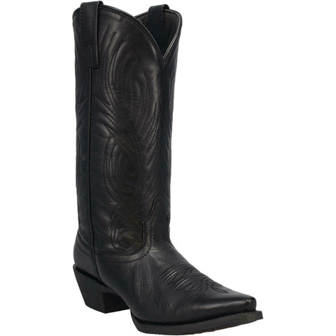 Laredo Ladies #TBT Black Leather Boots 51160