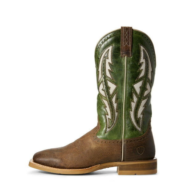 Ariat Men's Cowhand VentTek Tobacco Toffee Western Boots 10027173
