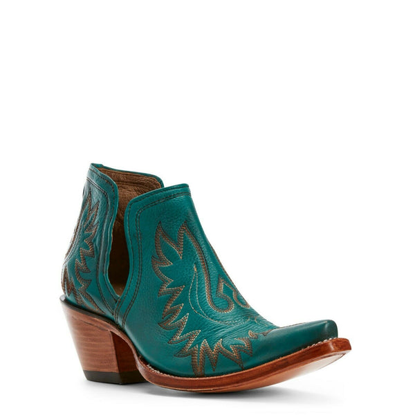 Ariat® Ladies Dixon Agate Green Western Ankle Boots 10027280