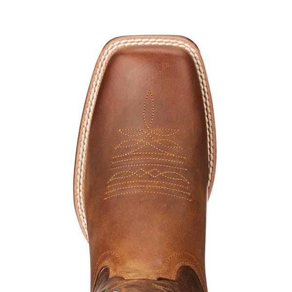 Ariat® Ladies VentTEK Ultra Distressed & Silly Brown Boots 10023146 - Wild West Boot Store