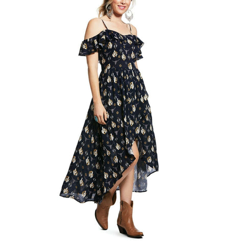 Ariat® Ladies Seven Seas Navy Dress 10032023