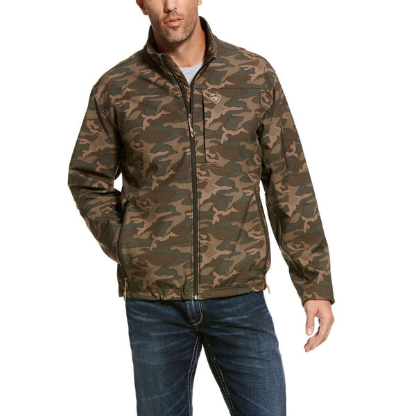Ariat® Men's Vernon 2.0 Camouflage Softshell Jacket 10028297
