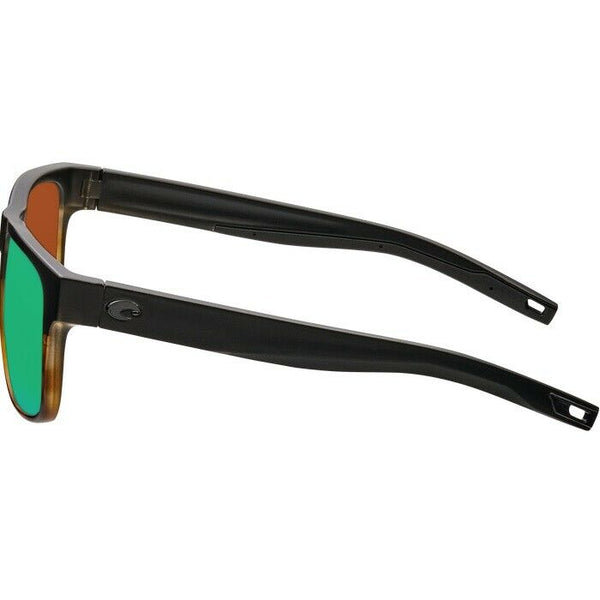 Costa Spearo Black Tortoise Frame w/ Glass Sunglasses SPO 181 OGMGLP