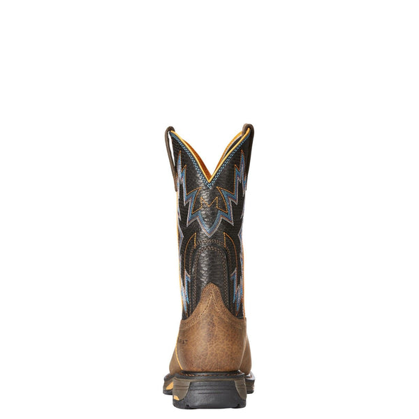 Ariat® Men's Workhog Raptor Earth/Black Snake Print Work Boot 10023058