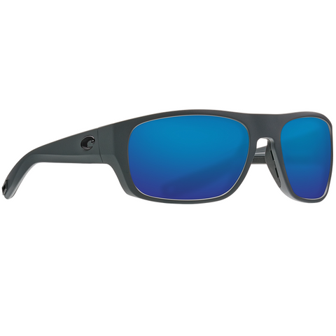 Costa Tico Gray Frame with Blue Glass Lens Sunglasses TCO-98-OBMGLP
