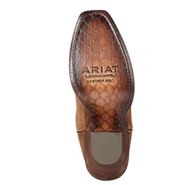 Ariat® Ladies Circuit Salem Textured Tan Square Toe Boots 10023132 - Wild West Boot Store