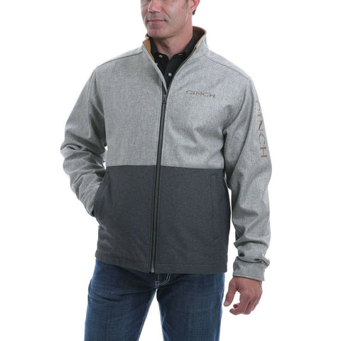 Cinch Men's Textured Color Blocked Bonded Jacket MWJ1526001