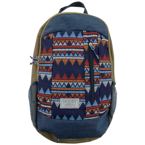Hooey Rockstar Tan Aztec Print Backpack Bag BP029TN