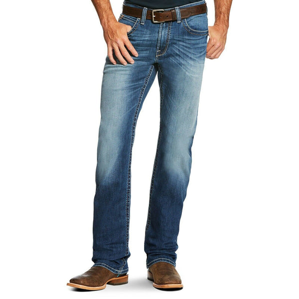 Ariat® Men's M4 Tekstretch Phoenix Relaxed Fit Boot Cut Jeans 10020798