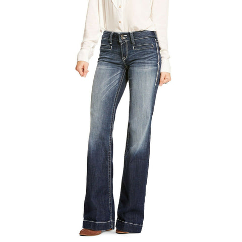 Ariat® Ladies Entwined Wide Leg Trouser Jeans 10025302