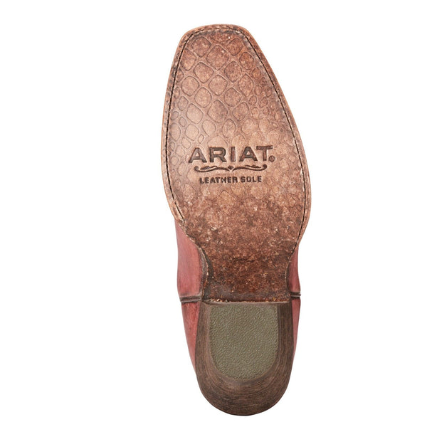 Ariat® Ladies Circuit Salem Naturally Distressed Pink Boots 10023136 - Wild West Boot Store