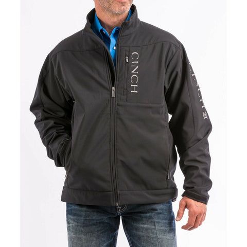 Cinch Men's Black Concealed Carry Bonded Jacket MWJ1043014