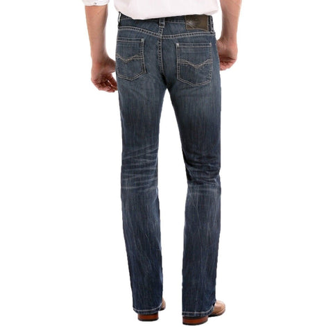 Rock & Roll Denim Men's ReFlex Revolver Straight Jeans M1R3482