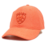 Ariat® Ladies Embroidered Logo Orange Ball Cap A300010926