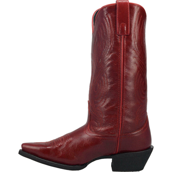 Laredo Ladies #TBT Red Leather Boots 51165