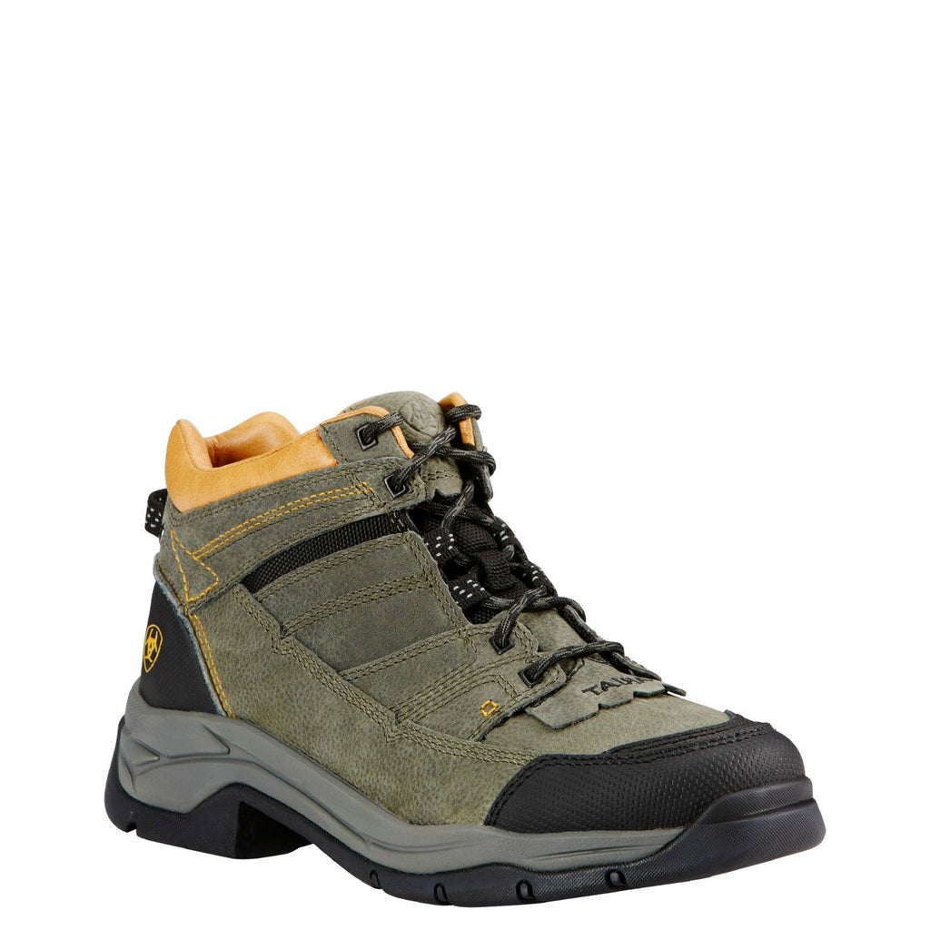 63d6a9f76cea6 Ariat® Men's Terrain Pro Shadow Green Lace-up Hiking Boots 10018472 ...