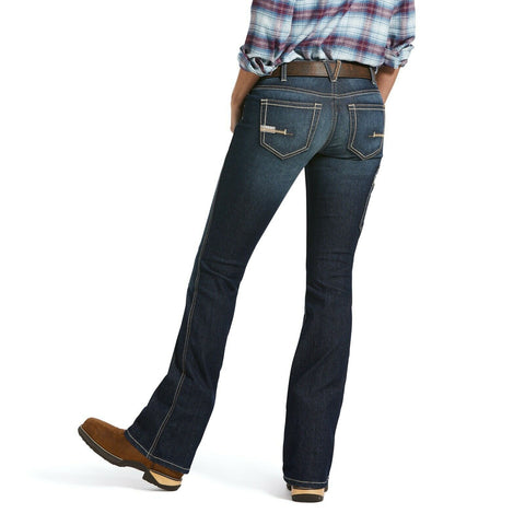 Ariat® Ladies Rebar™ DuraStretch™ Riveter Boot Cut Work Jeans 10032462