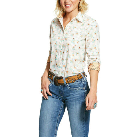 Ariat® Ladies Cactus Bloom Kirby Stretch Shirt 10030655