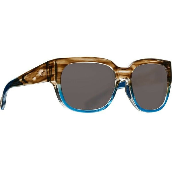 Costa del Mar Waterwoman Shiny Waho Glass Lens Sunglasses WTW 251 OGGLP
