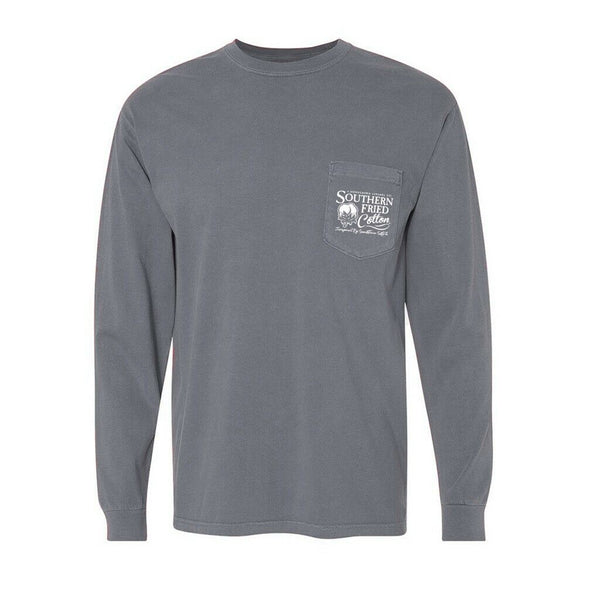 Southern Fried Cotton American Cotton Granite LS T-Shirts SFM30650