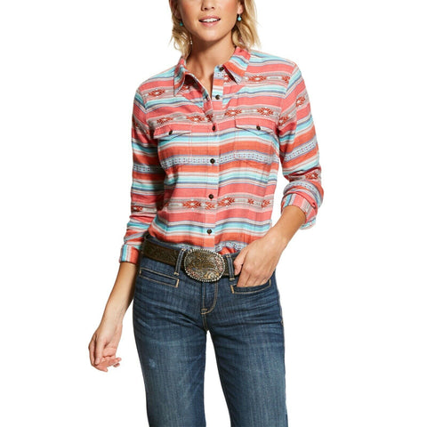 Ariat® Ladies R.E.A.L Brave Serape Classic Button Front Shirt 10028368