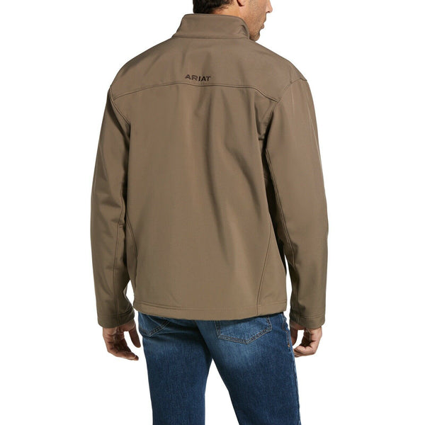 Ariat® Men's Vernon 2.0 Morel Brown Stretch Softshell Jacket 10030160