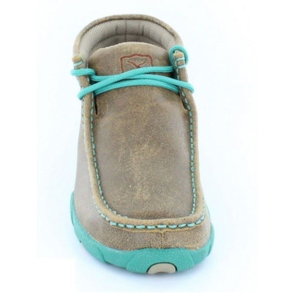 Twisted X Ladies Brown Driving Mocs WDM0020 - Wild West Boot Store - 3