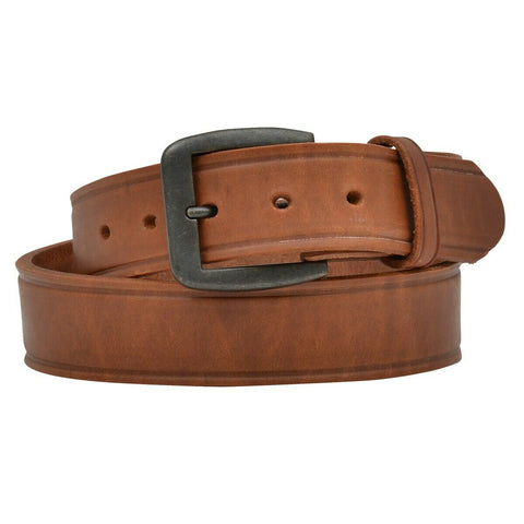 3D Belt Company Men's Harness Crease Tan Leather Belt D1147