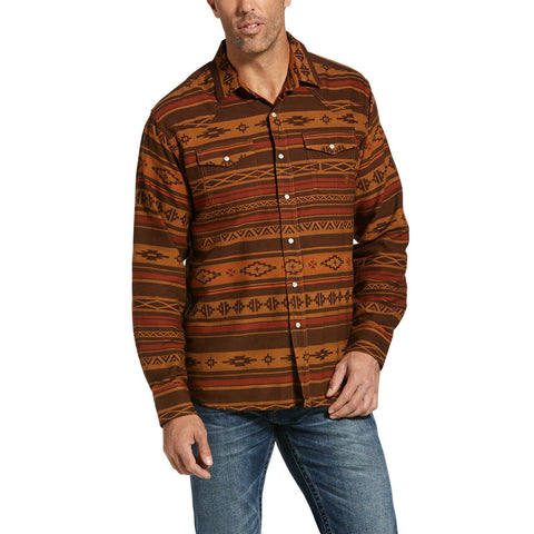 Ariat® Men's Cedarwood Retro Heffner Snap Shirt 10032893