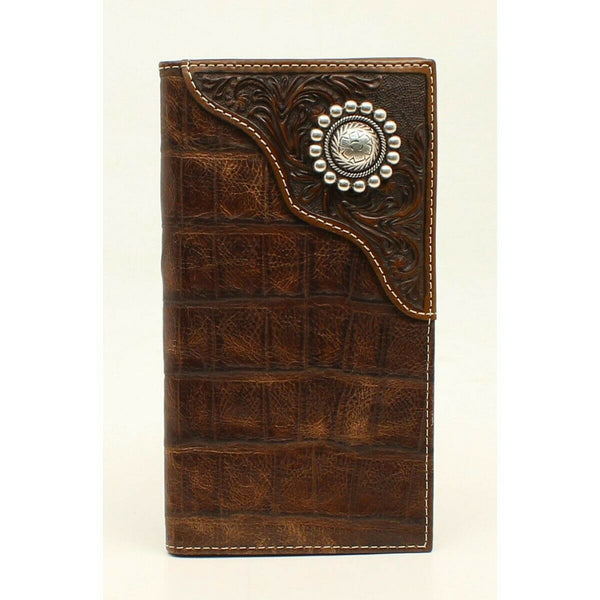 Ariat Men's Western Concho Rodeo Style Wallet A3529402