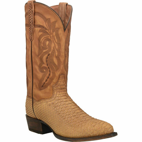 Dan Post Men's Tan Mayson Python Boots DP3396