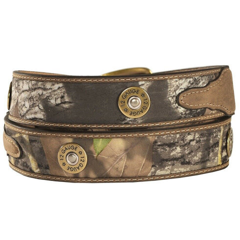 Nocona Men's Mossy Oak Shotgun Shell Belt N24998222