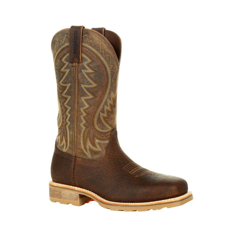 Durango Men's Maverick Pro Steel Toe Flaxen Brown Work Boots DDB0298