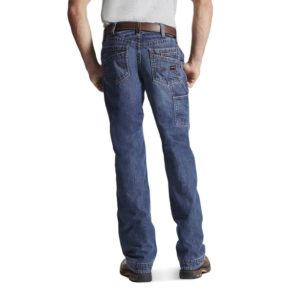 Ariat® Men's FR M4 Workhorse Flint Low Rise Boot Cut Jeans 10017262