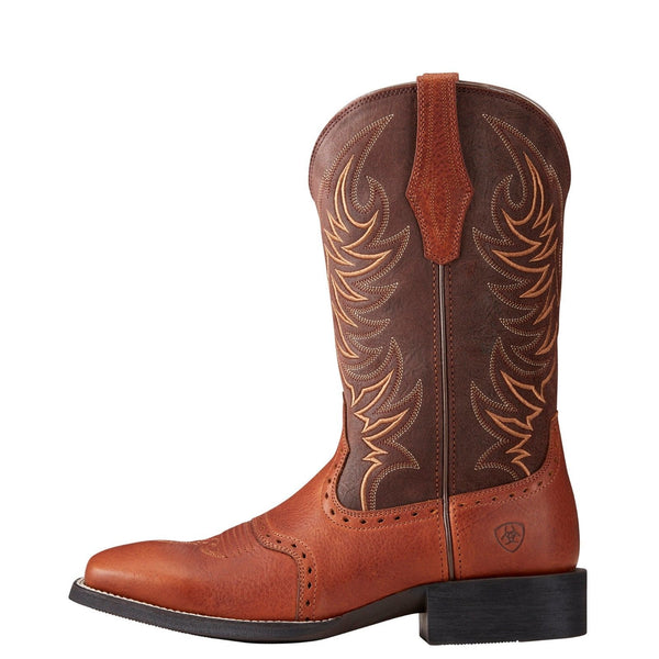 Ariat® Men's Sport Sidewinder Golden Grizzly & Brown Boots 10021683 - Wild West Boot Store