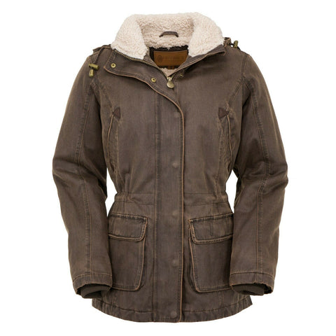 Outback Trading Company Ladies Woodbury Brown Jacket 2864-BRN