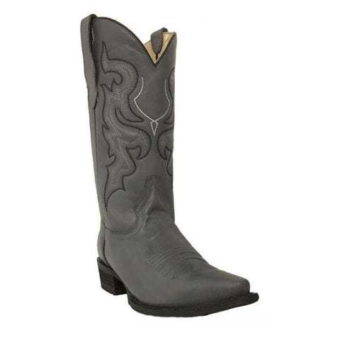 Circle G by Corral Men's Grey/Black Western Boot L5147 - Wild West Boot Store