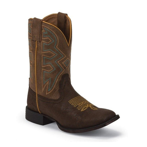 Nocona Children's Brown Let's Rodeo Boots NK5053 - Wild West Boot Store